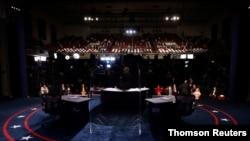 FILE PHOTO: FILE PHOTO: 2020 vice presidential debate in Salt Lake City