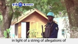 VOA60 Africa - CAR: Bangui residents relieved after UN mission chief is sacked - August 14, 2015