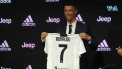 VOA Sport du 24 juillet 2018 : Cristiano Ronaldo nouvelle star de la Juventus Turin