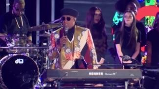 Vedet Ameriken Denzel Washington, Stevie Wonder Pale de Migran Ayisyen yo