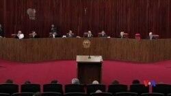 2017-06-10 美國之音視頻新聞: 巴西選舉法庭駁回了針對總統的賄賂案 (粵語)