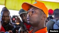 Aliyekuwa mwanamziki wa Rwanda Marehemu Kizito Mihigo.