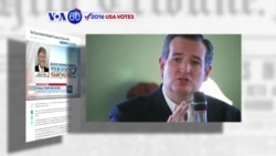 "VOA60 Elections - Texas Senator Ted Cruz says he ""looks forward"" to Trump lawsuit"
