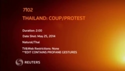 THAILAND COUP PROTEST