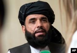 Talibanın sözçüsü Suhail Şahin