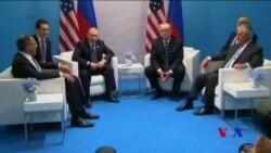 """普川G20曾兩度會面二次會面""""短暫交談"""" (粵語)"""