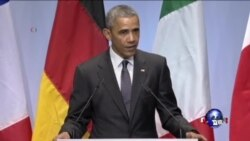 奥巴马称需加快训练伊拉克部队