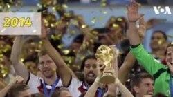 Nhìn lại hình ảnh các đội vô địch World Cup