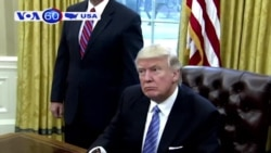 Ông Trump bị kiện vì nghi vi phạm Hiến Pháp (VOA60)