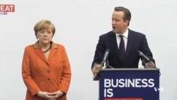 مرکل و کامرون به شرکتهای اروپائی وعده کمک دادند
