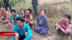 Cảnh sát Campuchia trục xuất ngư dân Việt đánh cá trái phép