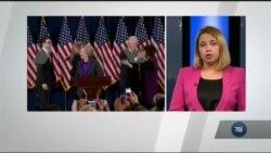 Як демократи та сама Клінтон сприйняли новину про поразку. Відео