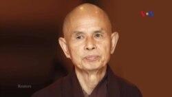 Thiền sư Nhất Hạnh đã trở về tu viện Làng Mai sau tai biến mạch máu não