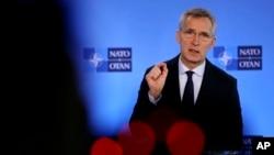 Generalni sekretar NATO Jens Stoltenberg , Foto: AP