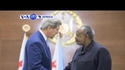 VOA60 DUNIYA: Sakatare Kerry Yana Djibouti, Mayu 6, 2015