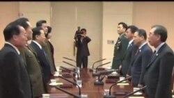 2014-02-14 美國之音視頻新聞: 南北韓就舉行離散家庭團聚達成協議