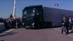 Camión con piloto automático