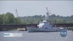 Hавчання українських моряків у Балтиморі. Відео