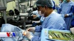 Ko'z operatsiyalarini robotlar bajaradi