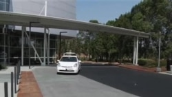 谷歌公司推出自动驾驶汽车