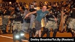 Минск, 9 августа 2020 года