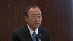 潘基文:敘利亞內戰造成10萬人死亡