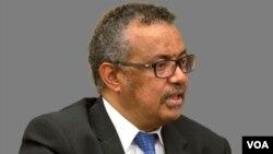 Dünya Sağlık Örgütü Genel Başkanı Tedros Adhanom Ghebreyesus