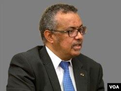Dünya Sağlık Örgütü Direktörü Tedros Adhanom Ghebreyesus