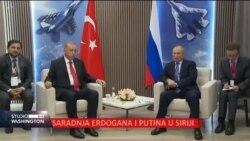 Saradnja Erdogana i Putina u Siriji