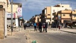 Des dizaines de roquettes se sont abattues sur Tripoli