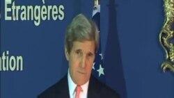 克里:美國重新評估在中東和談中的角色