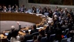 2015-04-15 美國之音視頻新聞:聯合國安理會批准對也門武器禁運