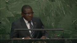 Discours de Samuel Rangba lors de l'Assemblée générale des Nations Unies 2015