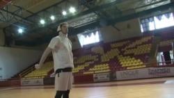 Чеди Осман, ѕвездата од НБА, тренираше во родниот Охрид