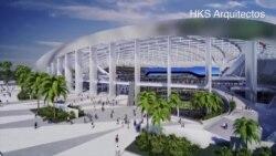 Nuevo estadio de los LA Rams en Inglewood