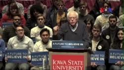 Presidential Candidates Woo Iowa Voters Ahead of Key Vote