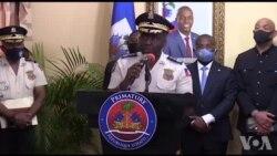 Direktè Polis Nasyonal la Leon Charles bay eksplikasyon sou operasyon PNH la pou libere 2 otaj