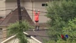 休斯顿飓风后还将迎来暴雨