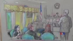 2019-04-16 美國之音視頻新聞: 法庭拒絕混入海湖莊園的中國女子保釋申請