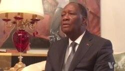 Alassane Ouattara appelle à la paix et au droit à manifester pacifiquement au Togo (vidéo)