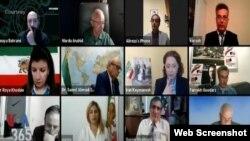 نخستین روز وبینار کنگره سالانه سازمان فرهنگی سیاسی ایران پاد