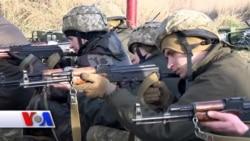 Ukraina askarlari AQSh zobitlaridan saboq olmoqda
