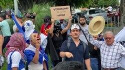 Policía de Nicaragua impidió manifestación estudiantil