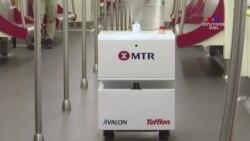 Կորոնավիրուսի պայմաններում՝ Հոնկոնգում դիմում են ռոբոտատեխնիկայի օգնությանը