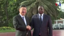 Le président chinois Xi Jinping au Sénégal