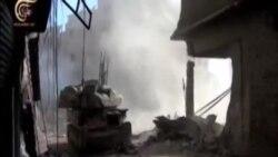 شورشیان مخالف دولت سوریه حمص را ترک می کنند