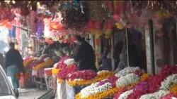 دہشت گردی کی وجہ سے پشاور میں پھولوں کا کاروبار متاثر