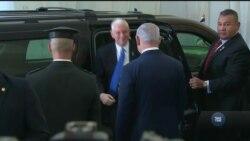 Скандалом завершився виступ віце-президента США в парламенті Ізраїлю. Відео