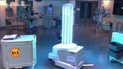 مہلک جراثیم کے خلاف جنگ میں شریک روبوٹس