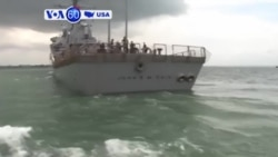 VOA60 America - US Navy Orders Operational Pause, Broad Probe Following Collision Near Singapore